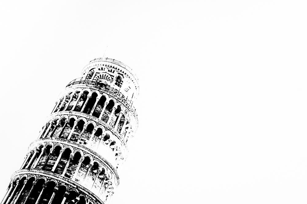 56m Pisa - Torre -  1372 B. Pisano