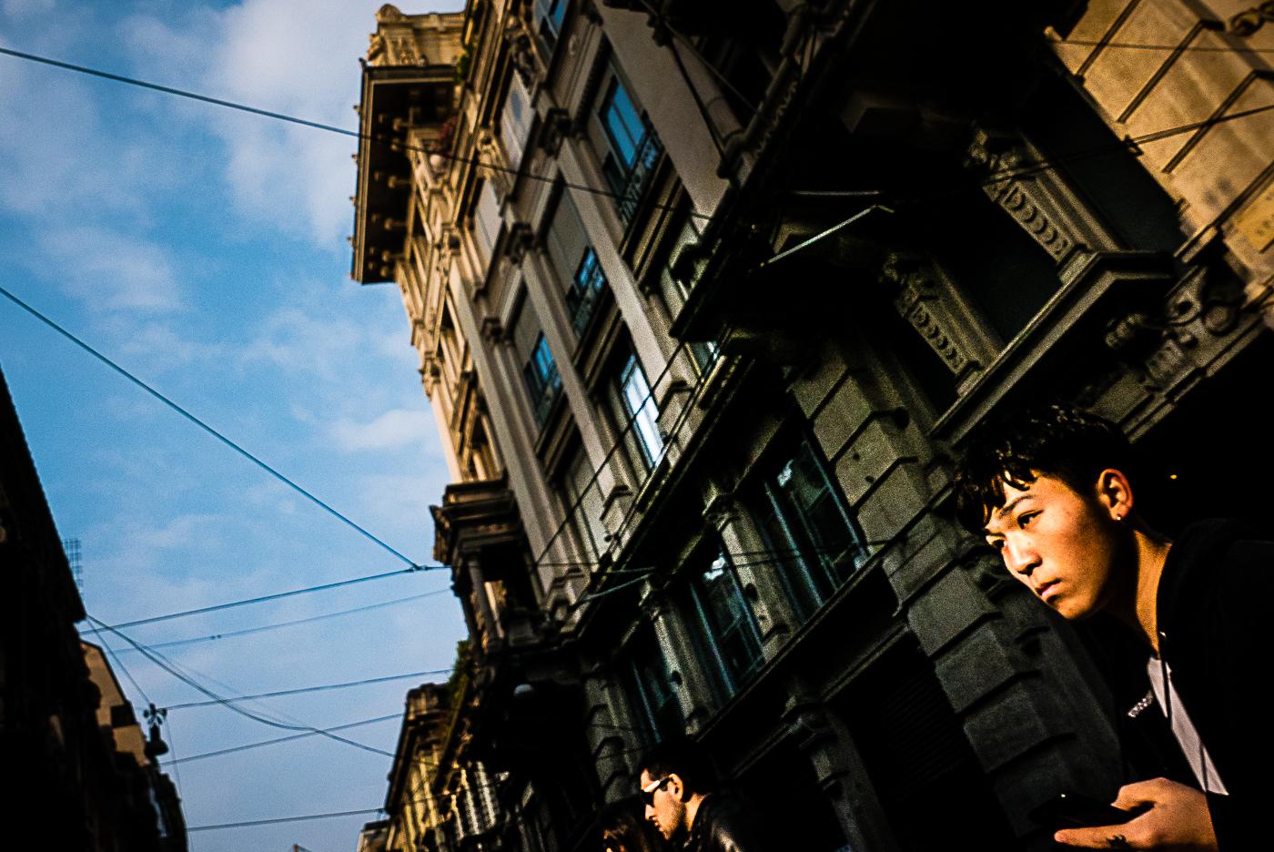 le vite degli altri milano concept street photography