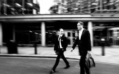 london in black&white